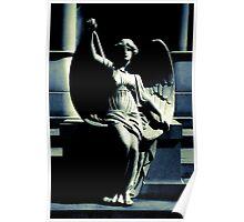 Art Deco Angel Poster