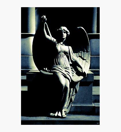 Art Deco Angel Photographic Print