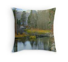 """River Reflections"" Throw Pillow"