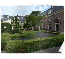 Lavandula in a Dutch Garden Poster