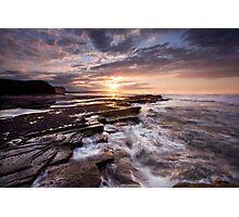 Saltwick Rush Photographic Print
