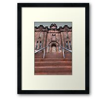 Old Schuylkill County Jail Framed Print