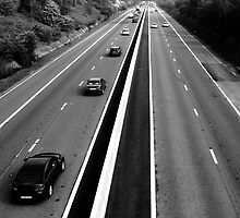 M18-Motorway by Paul Bettison