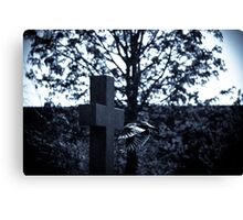 But who is stronger than death? Canvas Print