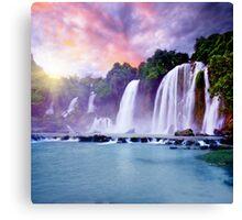 Banyue waterfall Canvas Print