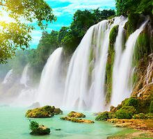 Detian waterfall by MotHaiBaPhoto Dmitry & Olga