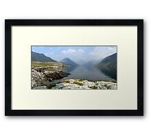 Wasdale  Britian's Greatest View Framed Print