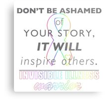 Inspire Others Metal Print