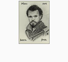 Porthos - Men Are Born Free Unisex T-Shirt