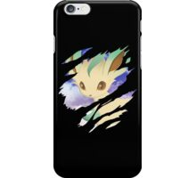 pokemon eevee leafeon anime manga shirt iPhone Case/Skin