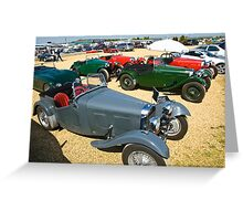 HRG Sports Cars Greeting Card
