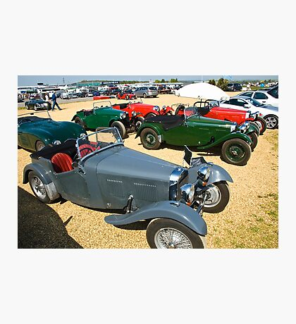 HRG Sports Cars Photographic Print