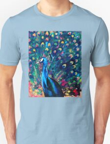 Psychedelic Peacock Unisex T-Shirt