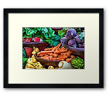 Vegetarian's Delight Framed Print
