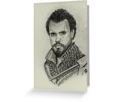 Porthos from The Musketeers Greeting Card