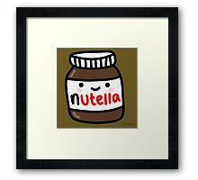 Baby Nutella Framed Print