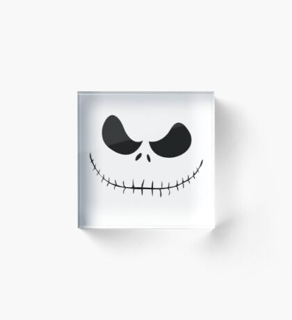 Nightmare Before Christmas  - Jack Skellington Acrylic Block