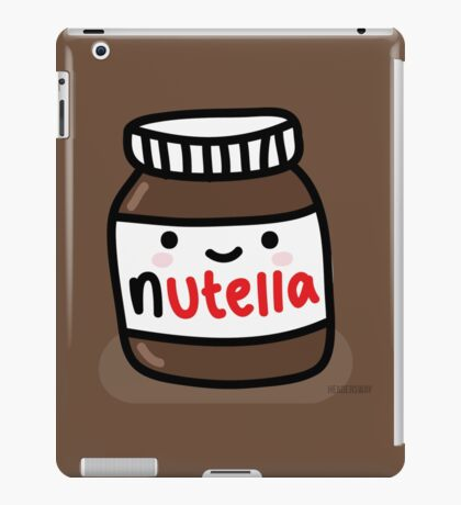 Baby Nutella iPad Case/Skin