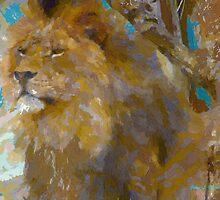 Lion by artstoreroom