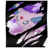 pokemon eevee espeon anime manga shirt Poster
