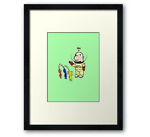 Invader From Beyond Hocotate Framed Print