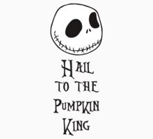 Nightmare Before Christmas - Hail to the Pumpkin King Kids Clothes