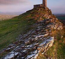 St.Michael de Rupe, Brent Tor by outwest photography.co.uk