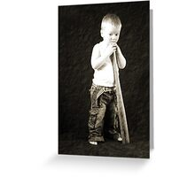Waiting for a game! Greeting Card