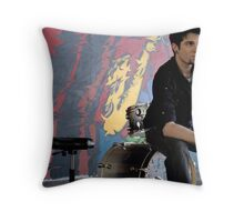 Look at the wall Throw Pillow