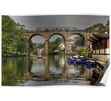 Knaresborough viaduct Poster