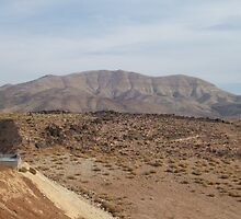 The hills in Jordan by CJuanita