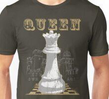 Chess Mate: White Queen Unisex T-Shirt