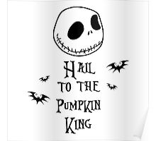 Nightmare Before Christmas - Hail to the Pumpkin King v4.0 Poster