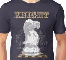 Chess Mate: White Knight Unisex T-Shirt