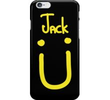 Jack U yellow iPhone Case/Skin