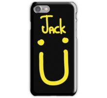 Jack U yellow iPhone Case/Skin