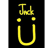 Jack U yellow Photographic Print
