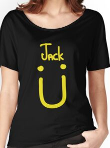 Jack U yellow Women's Relaxed Fit T-Shirt