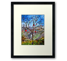 The Flower That is Forced to Escape Framed Print
