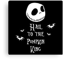 Nightmare Before Christmas - Hail to the Pumpkin King v3.0 Canvas Print
