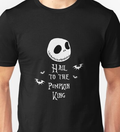 Nightmare Before Christmas - Hail to the Pumpkin King v3.0 Unisex T-Shirt