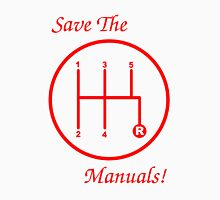 Save The Manuals! 5 Gear Unisex T-Shirt