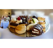High Tea at Newstead Abbey, Photographic Print