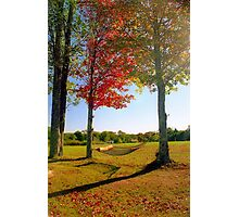 Lazy Autumn Afternoon, New England Photographic Print