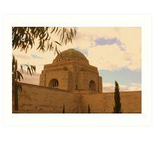 War Memorial Dome Art Print