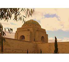 War Memorial Dome Photographic Print