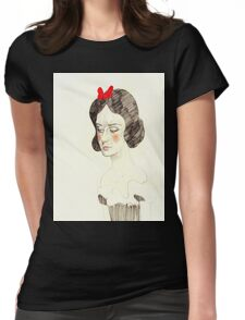 Snow White T Shirt Womens Fitted T-Shirt