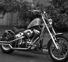 The Red Witch - Custom Chopper Motorcycle by layla89
