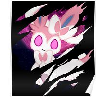 pokemon eevee sylveon anime manga shirt Poster