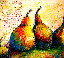 Pear Journal Page 5 by ©Janis Zroback